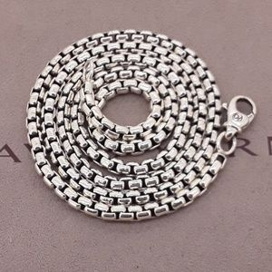 David Yurman Sterling Silver Box Chain 3.6mm 22""